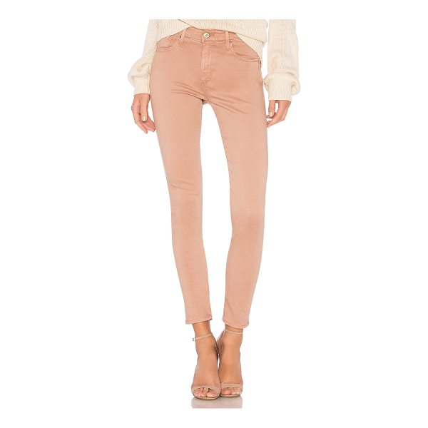"""AG ADRIANO GOLDSCHMIED Farrah Skinny - """"60% cotton 30% modal 8% poly 2% polyurethane. Front and..."""