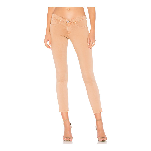AG ADRIANO GOLDSCHMIED Legging Ankle - 59% cotton 31% modal 8% poly 2% elastane. Faux front...