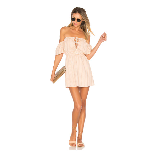 "ALE BY ALESSANDRA x REVOLVE Gabriela Mini Dress - ""Blushing over the details. The soft, lightweight Gabriela..."