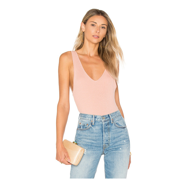 ALE BY ALESSANDRA x REVOLVE Marisol Bodysuit - Simplicity at its finest. Rendered in a soft rib knit...