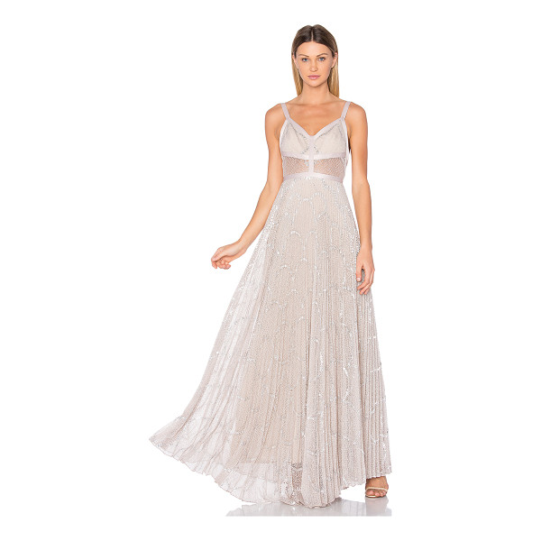 ALEXIS Isabella Gown - Light as air as you glide through the partygoers. The...