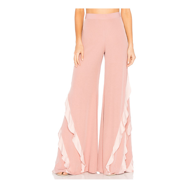 "ALEXIS Julless Pant - ""Feminine frills define the heart of Alexis' Julless Pant...."