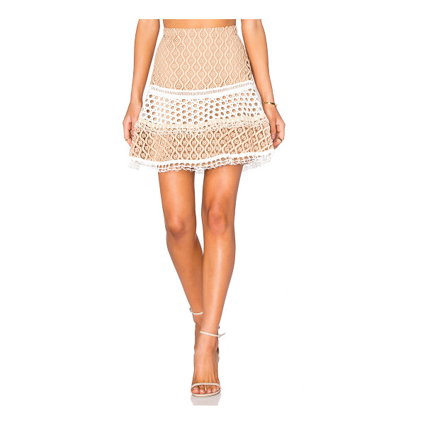 ALEXIS Larissa skirt - Self, Combo & Lining: 100% poly. Dry clean only. Fully...