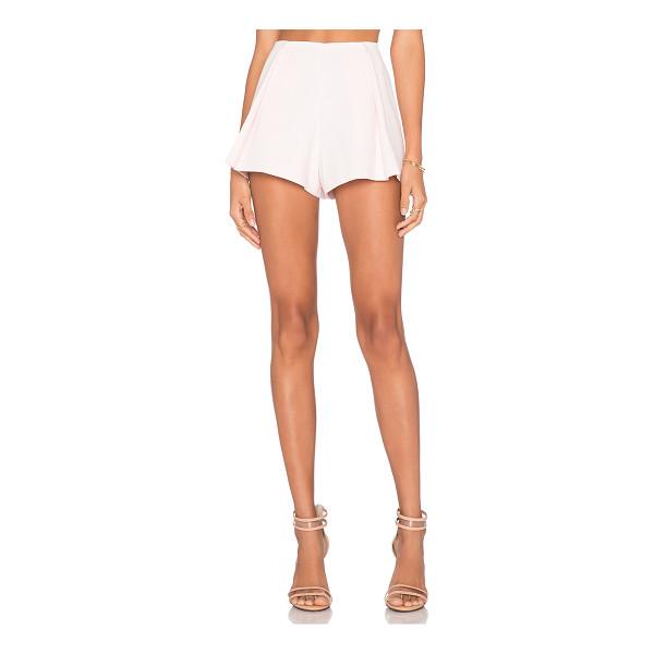 ALEXIS Mai pleated shorts - Self: 75% cotton 23% poly 2% spandexLining: 96% poly 4%...