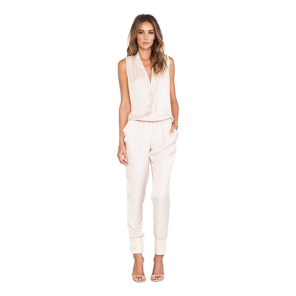 ALEXIS Saint thomas jumpsuit - 100% poly. Dry clean only. Front button closure....
