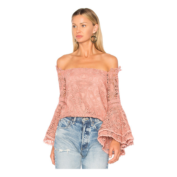 ALEXIS Thea Top - Exude natural elegance in the Thea Top by Alexis. An off...