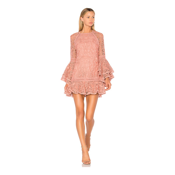 ALEXIS Veronique Dress - Romance on a whim. Intricate lace delicately shapes this...