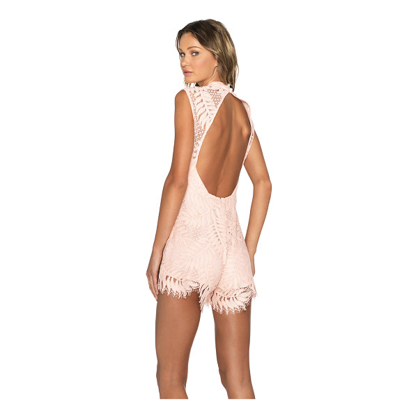 ALEXIS X revolve lucia lace romper - Shell: 100% cottonLining: 100% poly. Dry clean only. Back...