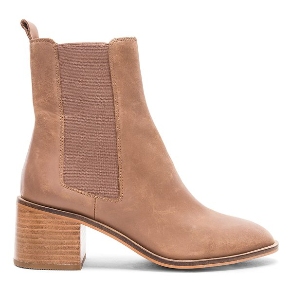 """ALIAS MAE Gail Bootie - """"Leather upper with man made sole. Elasticized pull on..."""