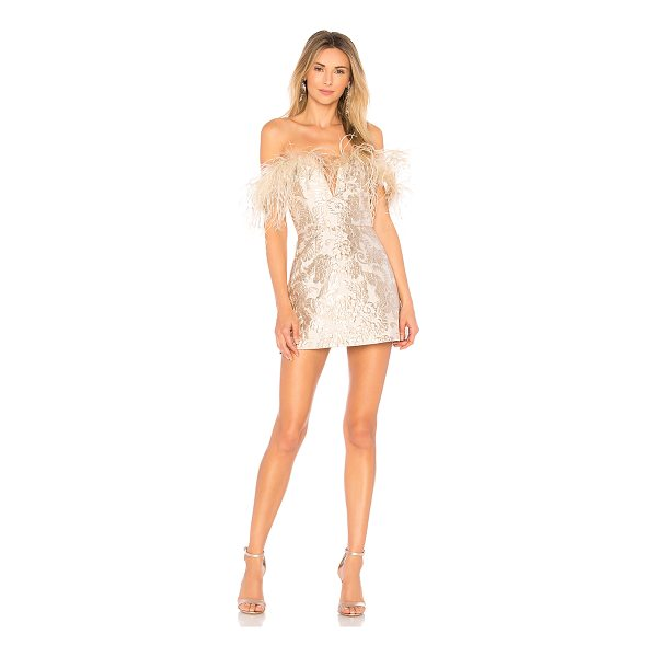 "ALICE MCCALL Pop Goes the Party Dress - ""Self: 63% poly 27% metallized fabric 10% nylonLining: 100%..."