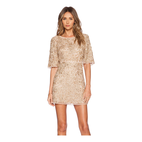 ALICE + OLIVIA Drina embellished dress - Nylon blend. Dry clean only. Fully lined. Lace applique...