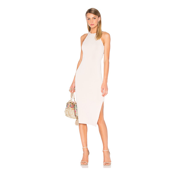 ALICE + OLIVIA Lumi Cross Back Dress - Self: 96% poly 4% elastaneLining: 84% nylon 18% elastane....