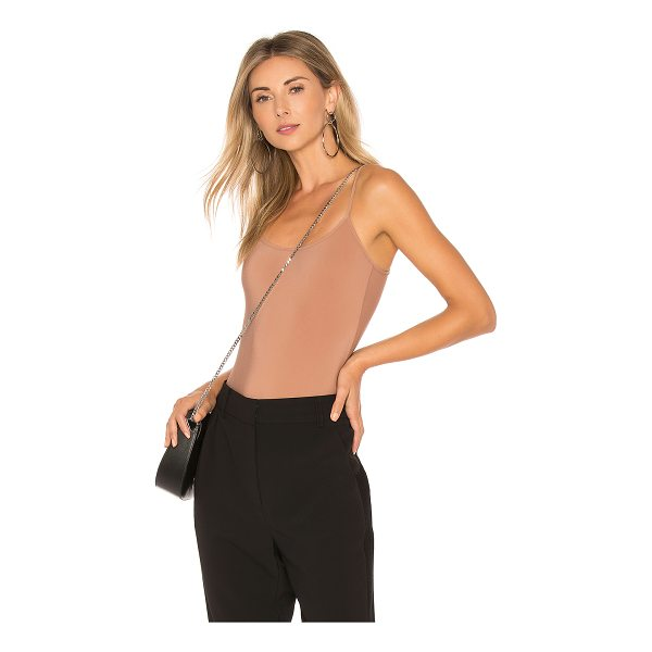 ALIX Elizabeth Bodysuit - 78% polyamide 22% elastane. Hand wash cold. Bottom snap...