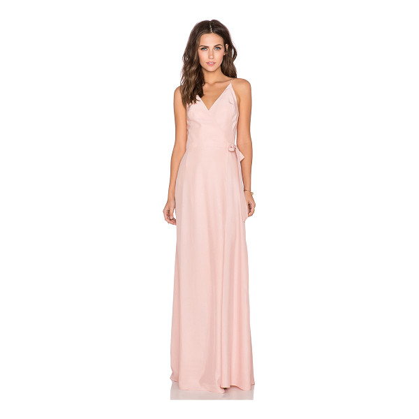 AMANDA UPRICHARD Alexandria maxi dress - Silk blend. Dry clean only. Partially lined. Wrap front...
