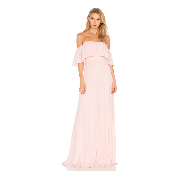"""AMANDA UPRICHARD Delilah Maxi - """"Silk blend. Dry clean only. Fully lined. Non-slip silicone..."""