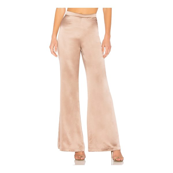 "AMANDA UPRICHARD Elliot Pants - ""100% silk. Dry clean only. Hidden back zipper closure...."