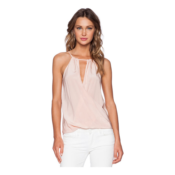 AMANDA UPRICHARD Janica top - 100% silk. Dry clean only. Back tie closure. AMAN-WS379. S...