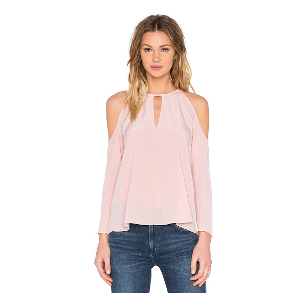 AMANDA UPRICHARD Jasmine Top - 100% silk. Dry clean only. Back hook closure. AMAN-WS442. S...