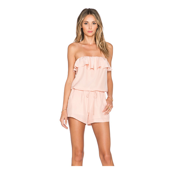 AMANDA UPRICHARD Joan romper - Self: 100% silkLining: 100% poly. Dry clean only....