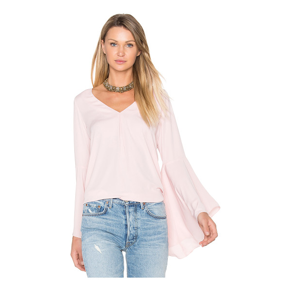 AMANDA UPRICHARD Laura Top - Poly blend. Dry clean only. Pleat detail on front and back....