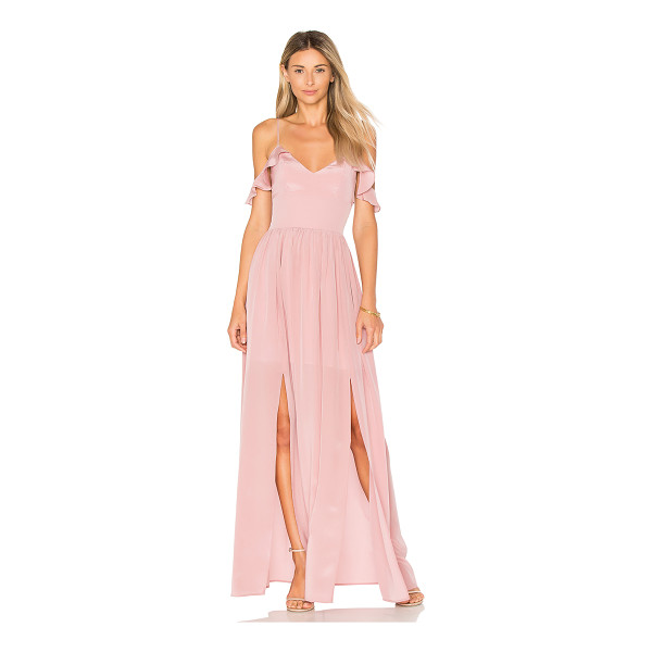 AMANDA UPRICHARD Wren Maxi - Self: 100% silkLining: 100% poly. Dry clean only. Partially...
