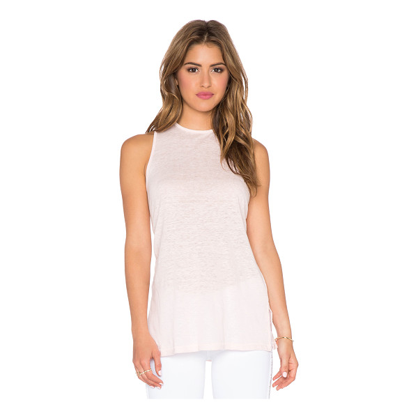AMOUR VERT Dallas tank - 100% linen. Dry clean only. AMOU-WS59. 8084. San Francisco...