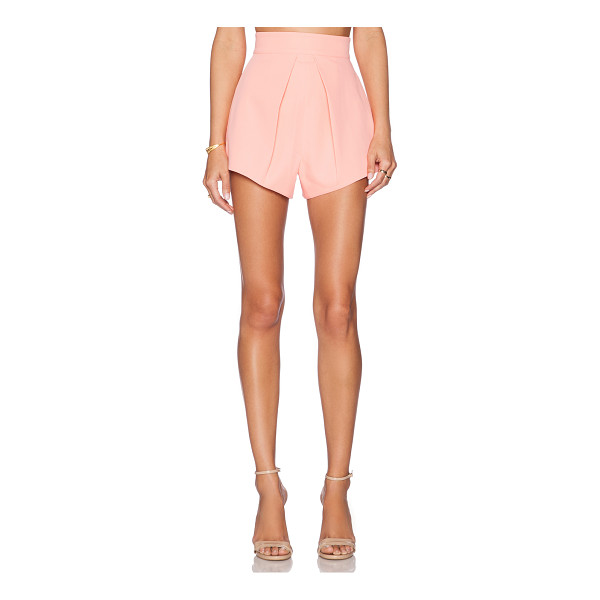 AQ/AQ Adele shorts plain - Main & Lining: 100% poly. Dry clean only. Shorts measure...