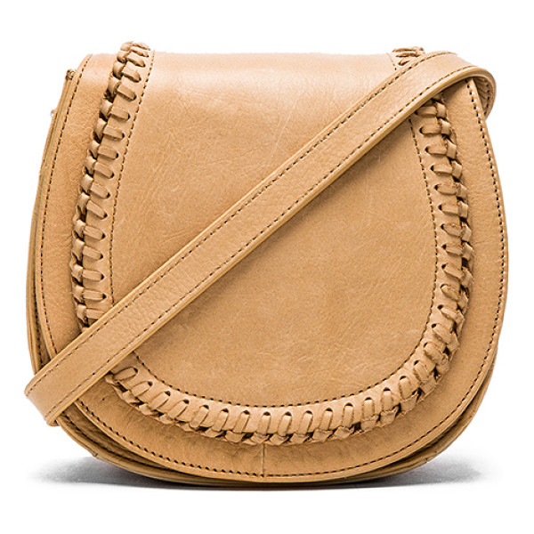 ASH Clover small crossbody - Leather exterior with poly fabric lining. Adjustable...
