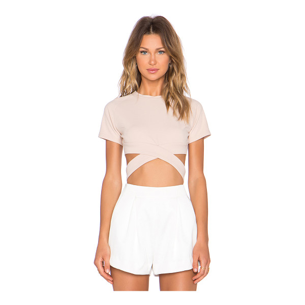 ASILIO Hotel california crop top - 95% poly 5% spandex. Dry clean recommended. Crossover...