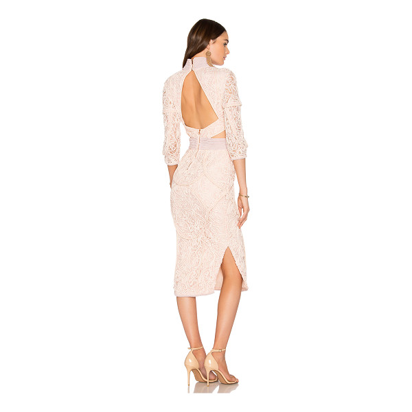ASILIO The Rebecca Dress - Poly blend. Dry clean only. Fully lined. Waist and back...