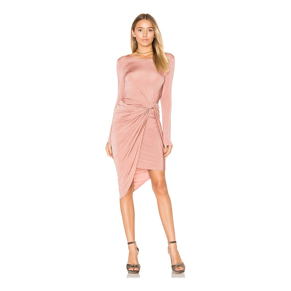 ASTR THE LABEL Janice Dress - 95% viscose 5% spandex. Dry clean only. Partially lined....