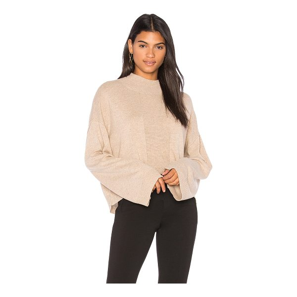 ATM ANTHONY THOMAS MELILLO Alpaca Mock Neck Sweater - Alpaca blend. Dry clean only. Knit fabric. Ribbed trim....
