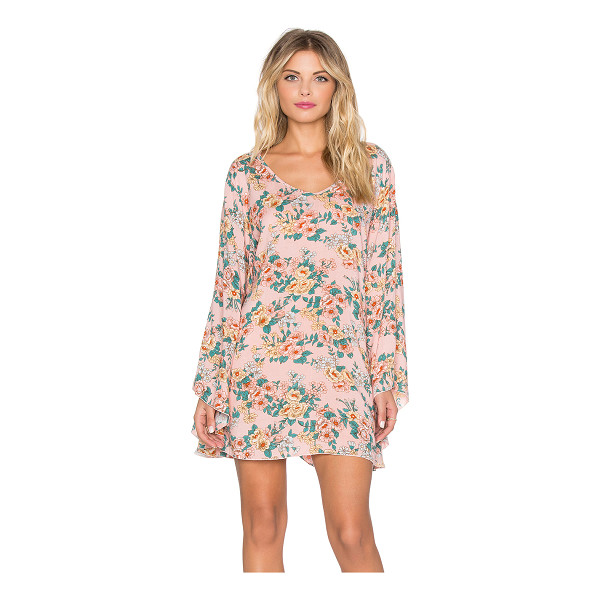 AUGUSTE Bell sleeved shift dress - 100% rayon. Unlined. AUGR-WD25. AUG HC2 139 BB MU. Auguste...