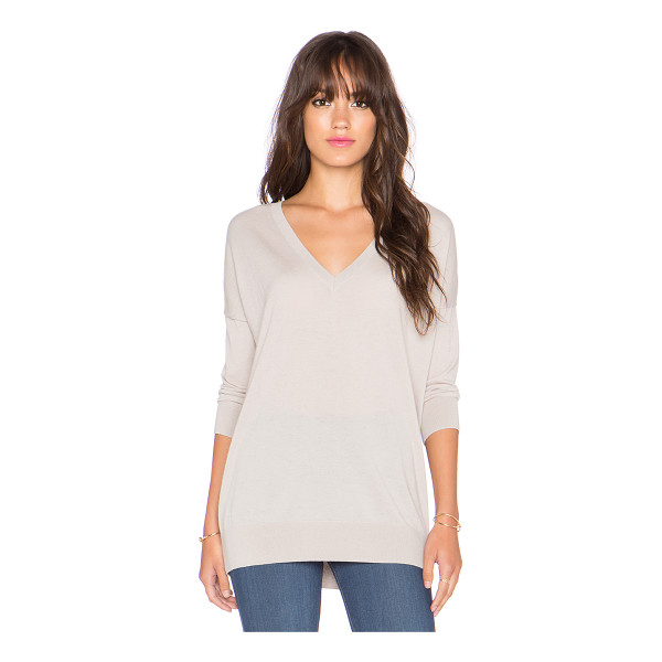 AUTUMN CASHMERE 3/4 sleeve slouchy sweater - 100% cashmere. Dry clean only. AUTU-WK438. RFC9470. Autumn...