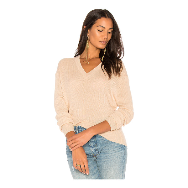AUTUMN CASHMERE Ribbed Hi Lo Sweater - 100% cashmere. Dry clean only. Rib knit fabric. AUTU-WK629....