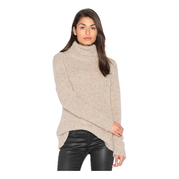 AYNI Amaya Turtleneck Sweater - Cashmere blend. Hand wash cold. Textured pill knit fabric....