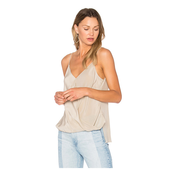 BAILEY 44 Falafel Top - Silk blend. Dry clean only. BAIL-WS1653. 404 C308. Bailey...