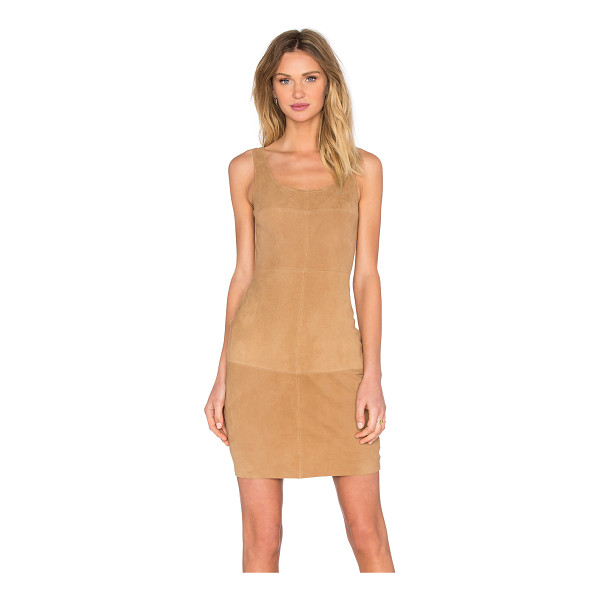 BAILEY 44 Nomad dress - Poly blend. Fully lined. Faux suede front panel with...