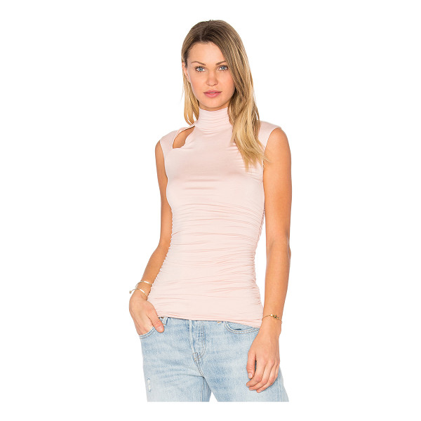 BAILEY 44 Stephanie Top - 94% rayon 6% spandex. Dry clean only. Shoulder cut-out...