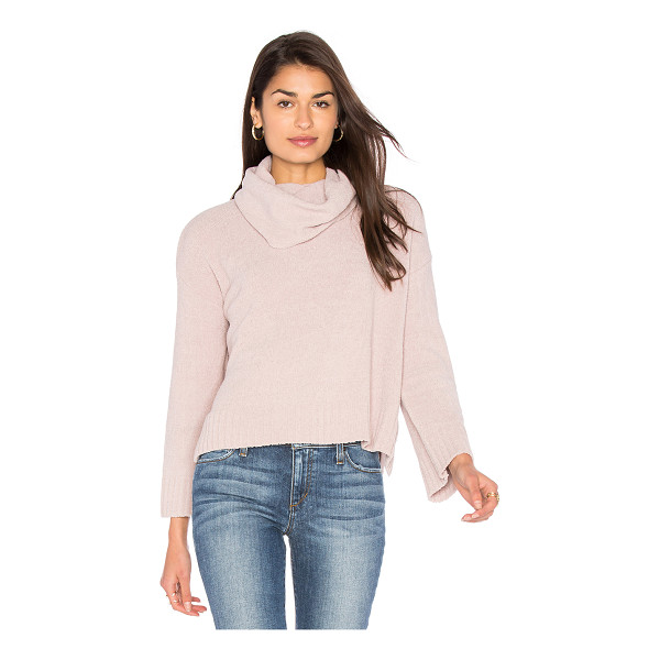 BB DAKOTA Marcilly Sweater - 100% poly. Hand wash cold. Ribbed trim. Side seam slits....