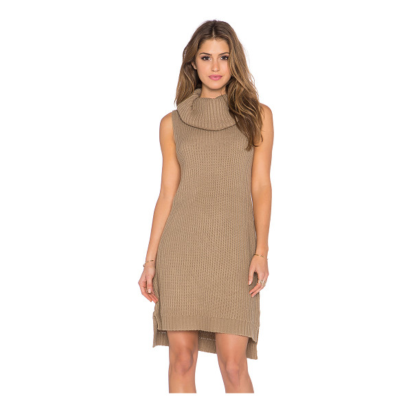 BB DAKOTA Marisa sweater dress - 100% acrylic. Hand wash cold. Unlined. Asymmetrical hem....