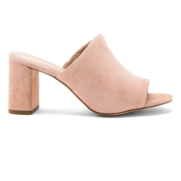 BCBGENERATION Beverly Heel - Suede upper with man made sole. Slip-on styling. Heel...