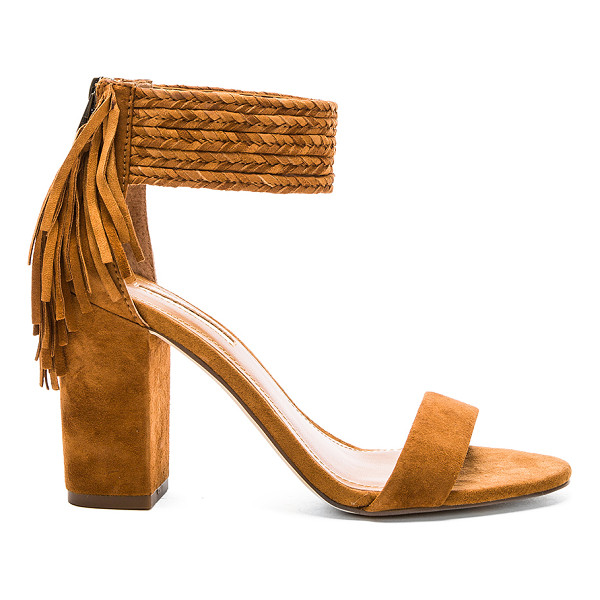 BCBGENERATION Calizi Sandal - Suede upper with man made sole. Back zip closure. Braided...