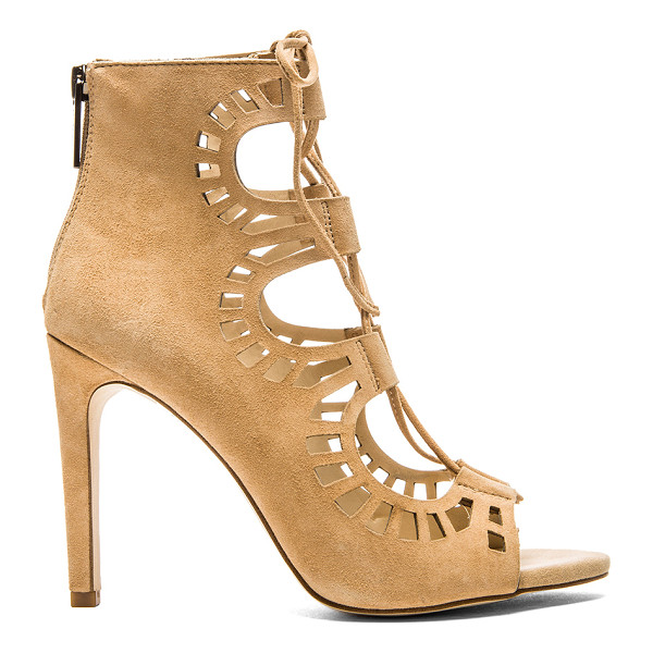 """BCBGENERATION Carnival bootie - Suede upper with man made sole. Heel measures approx 4"""""""" H...."""