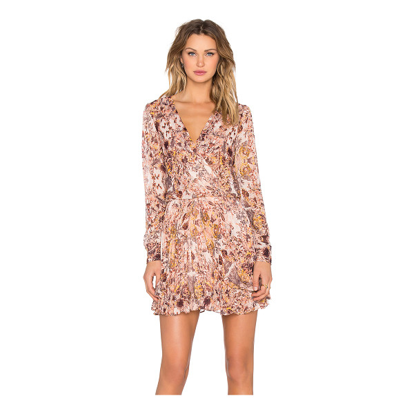 BCBGENERATION Long Sleeve Mini Dress - Self: 99% poly 1% metallicLining: 100% poly. Partially...