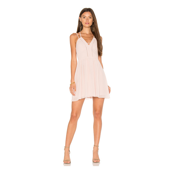 BCBGENERATION Strappy V Dress - Self & Lining: 100% poly. Fully lined. Double adjustable...