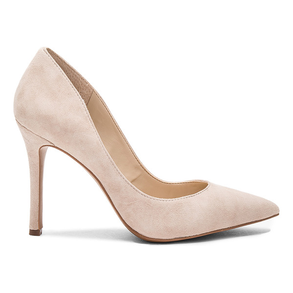 BCBGENERATION Treasure Pump - Suede upper with man made sole. Slip-on styling. Heel...