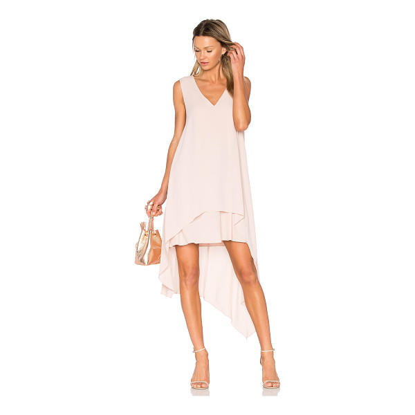 BCBGMAXAZRIA Kaira Dress - 100% poly. Fully lined. Back snap button strap closure....