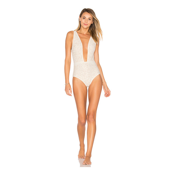 BEACH RIOT Ibiza One Piece - Poly blend. Hand wash cold. Stretch fit. Raised stud...