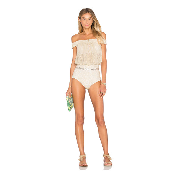 BEACH RIOT x REVOLVE X A BIKINI A DAY Charlotte One Piece - Poly blend. Hand wash cold. Elastic stretch fit. Built-in...
